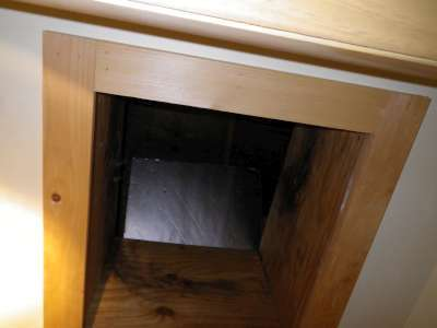Mold mildew in the attic.