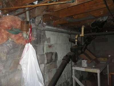 Multiple plumbing repairs.