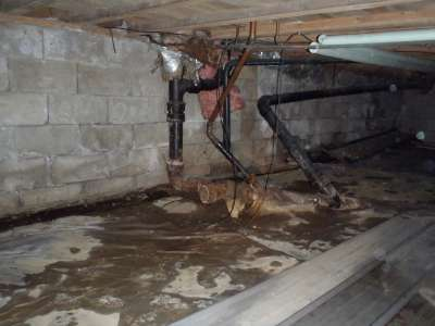 Multiple plumbing repairs needed.