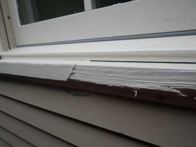 Siding issues